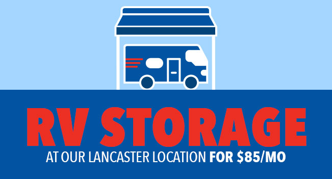 RV Storage in Lancaster