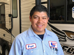 RV Parts Counter Employee