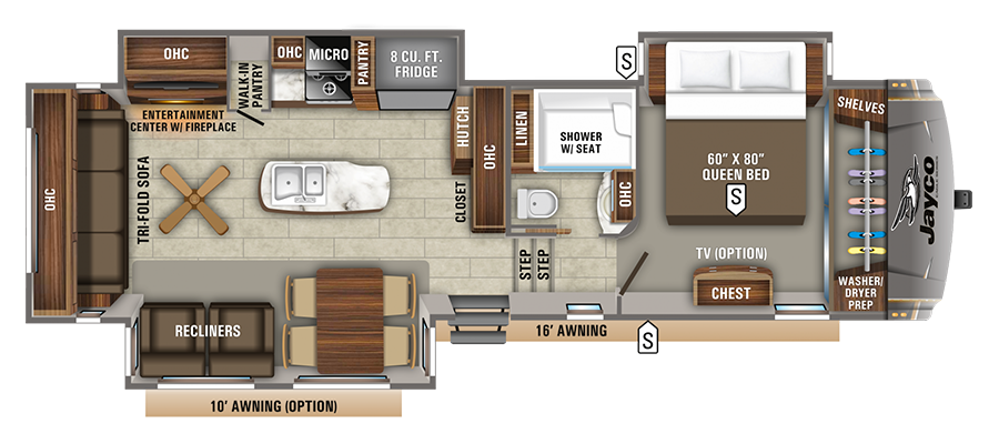 Jayco Eagle 321RSTS Fifth Wheel