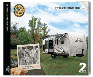 Jayco Eagle Travel Trailer Brochure