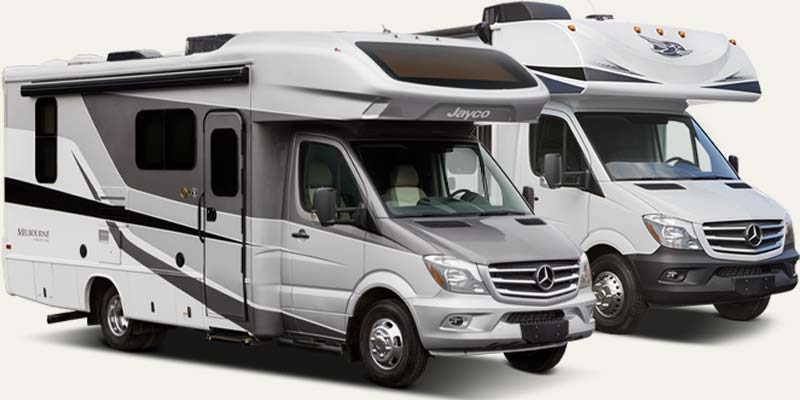 Jayco Melbourne and Melbourne Prestige Class C motorhomes