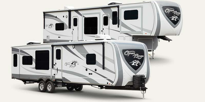 Open Range fifth wheels and travel trailers by Highland Ridge