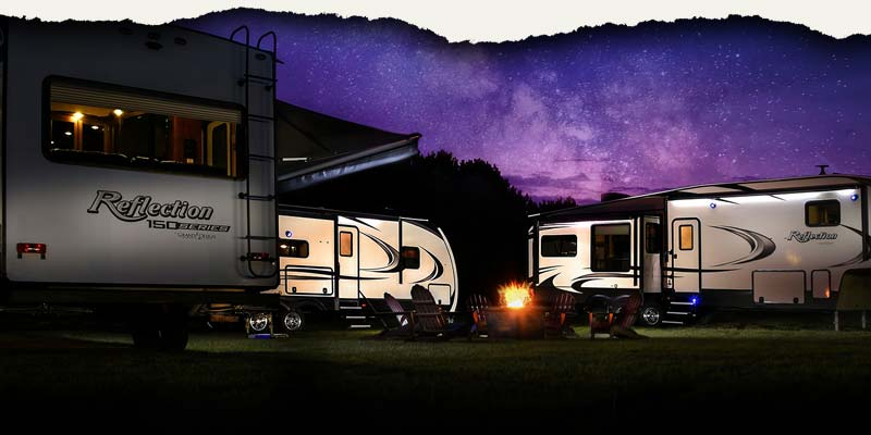 Grand Design Reflection Travel Trailers and Fifth Wheels