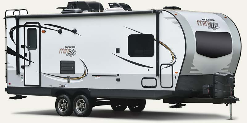 Forest River Rockwood Mini Lite travel trailers.