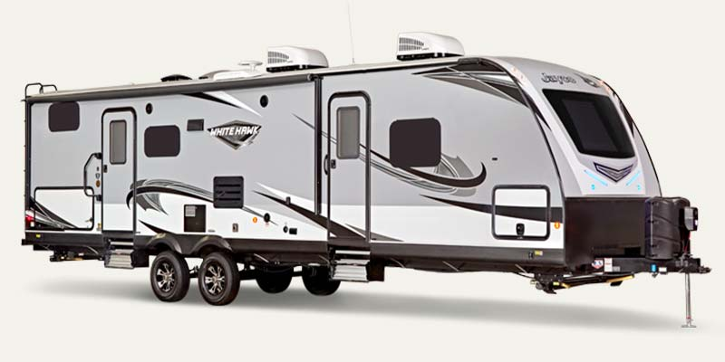 Jay White Hawk travel trailers