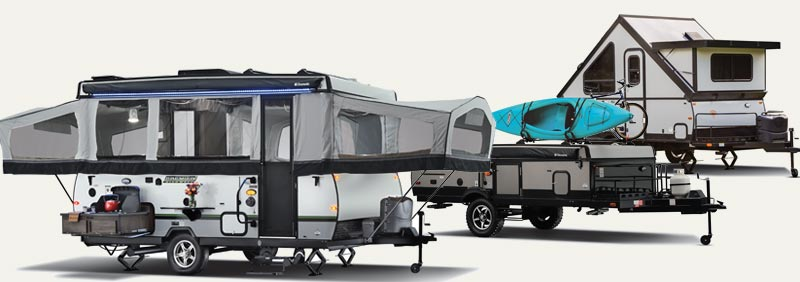 Popup or folding camper sales in Oklahoma