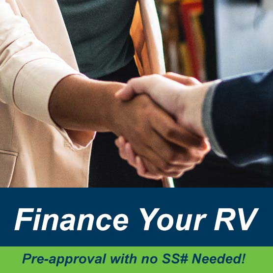 Get Pre-approved for RV finance without effecting your credit.
