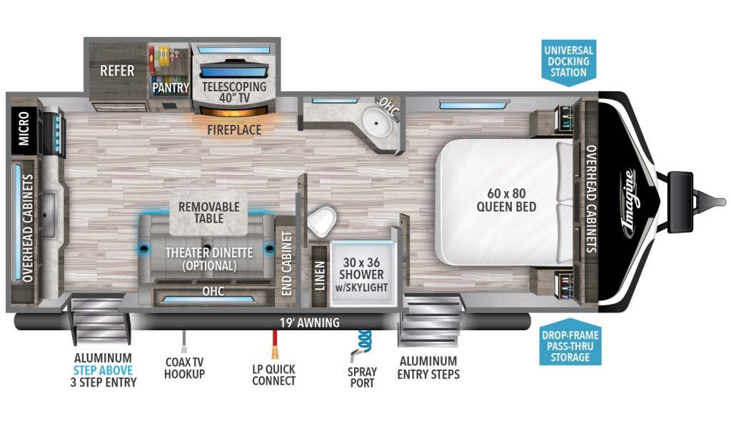 Grand Design Imagine XLS zzzzzzzzzz Floorplan