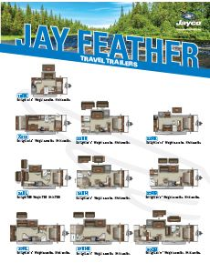 2021 Jayco Jay Feather Travel Trailers