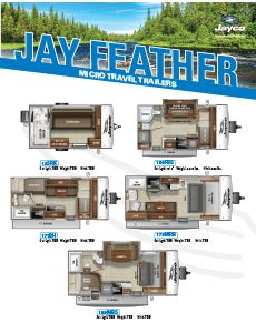 2021 Jayco Jay Feather Micro Travel Trailers