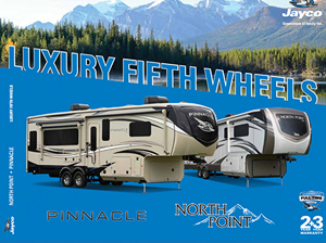 2021 Jayco Luxury Fifth Wheels (North Point and Pinnacle)