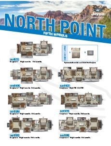 2021 Jayco North Point Fifth Wheels