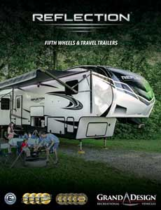 2021 Grand Design Reflection travel trailers and fifth wheels