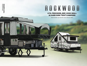 2021 Forest River Rockwood Tent Camper Brochure