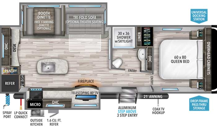 Imagine 2670MK floorplan diagram