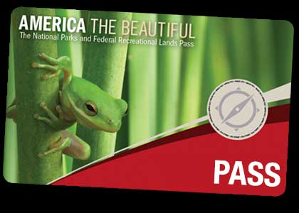 Link to blog post on America the Beautiful Federal Passes.