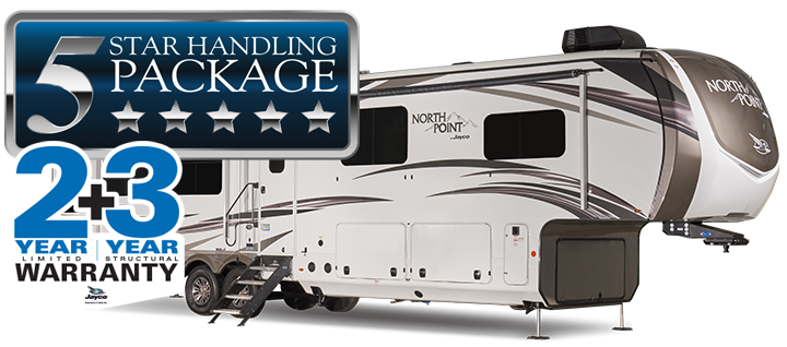Compare the Jayco North Point fifth wheel to the Keystone Montana fifth wheel.