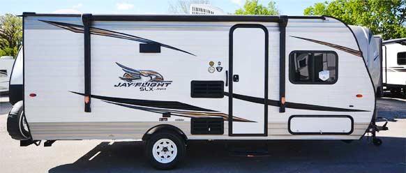 Photo of Jayco Jay Flight camper.