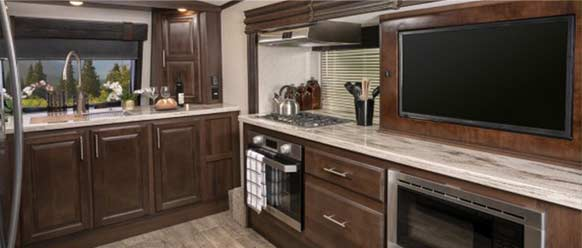 Photo of North Point fifth wheel.