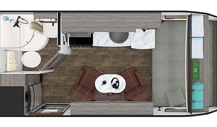 Lance 1475 floor plan diagram