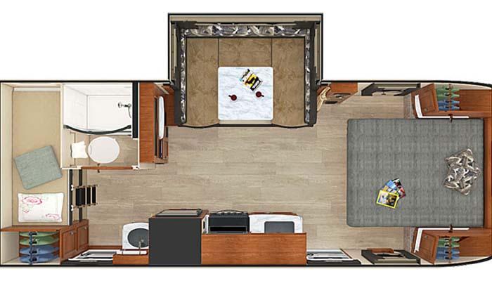Lance 2185 floor plan diagram