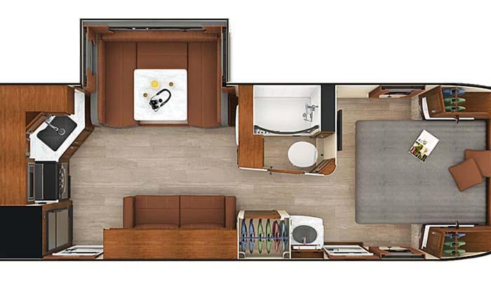 Lance 2285 floor plan diagram