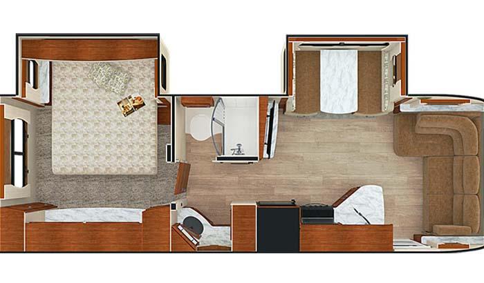 Lance 2465 floor plan diagram