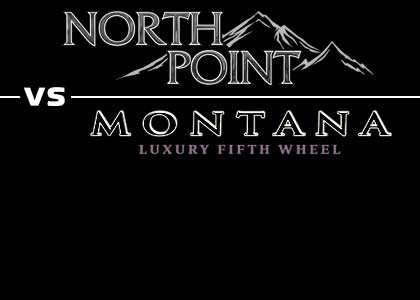 Link to comparison of Jayco North Point to Keystone Montana