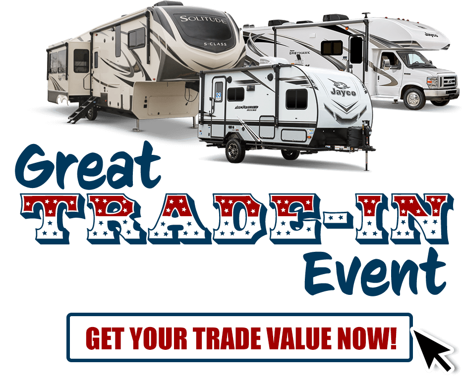 Get top dollar for your trade at our Great Trade-in Event. Click to get value for your trade.