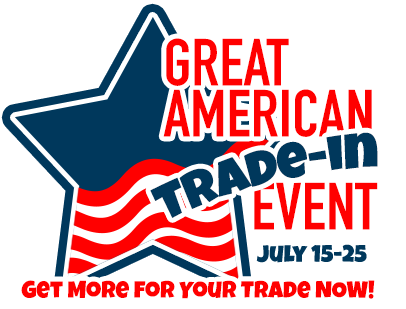 RV trade-in event. Get the most for your trade July 15 - 25.