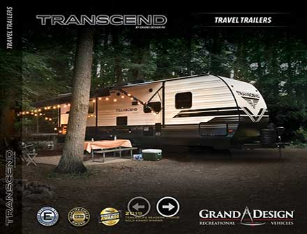 Thumbnail image of the Grand Design Transcend Brochure.