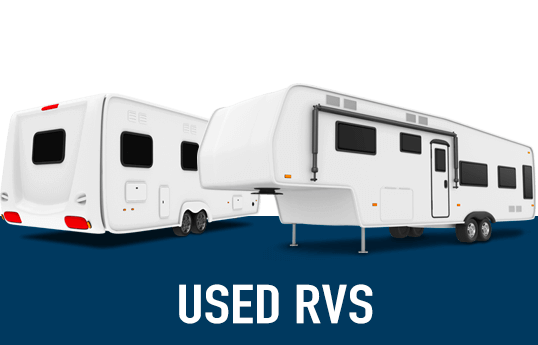 Illustration of used RVs.