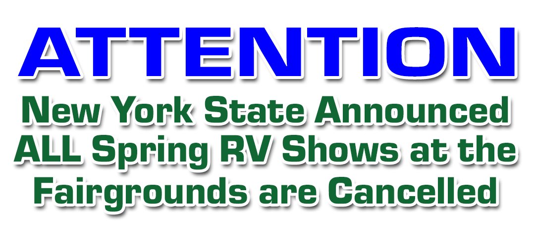 NYS RV SHOW CANCELLED