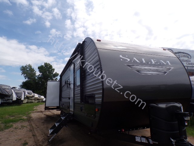 2020 Forest River Salem 31KQBTS Travel Trailer Stock Number 3738 - Kroubetz Lakeside Campers