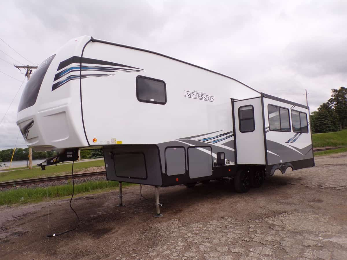 NEW 2021 Forest RIver Impression 240RE - Kroubetz Lakeside Campers