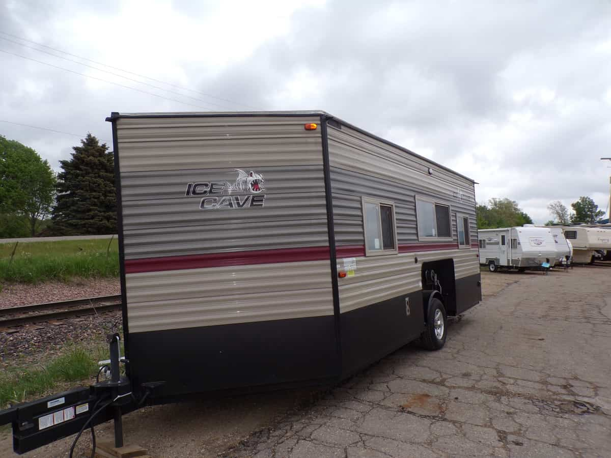 USED 2019 Cherokee by Forest River Ice Cave 16BF - Kroubetz Lakeside Campers