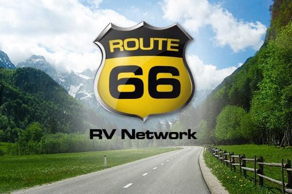 Route 66 RV Network Logo