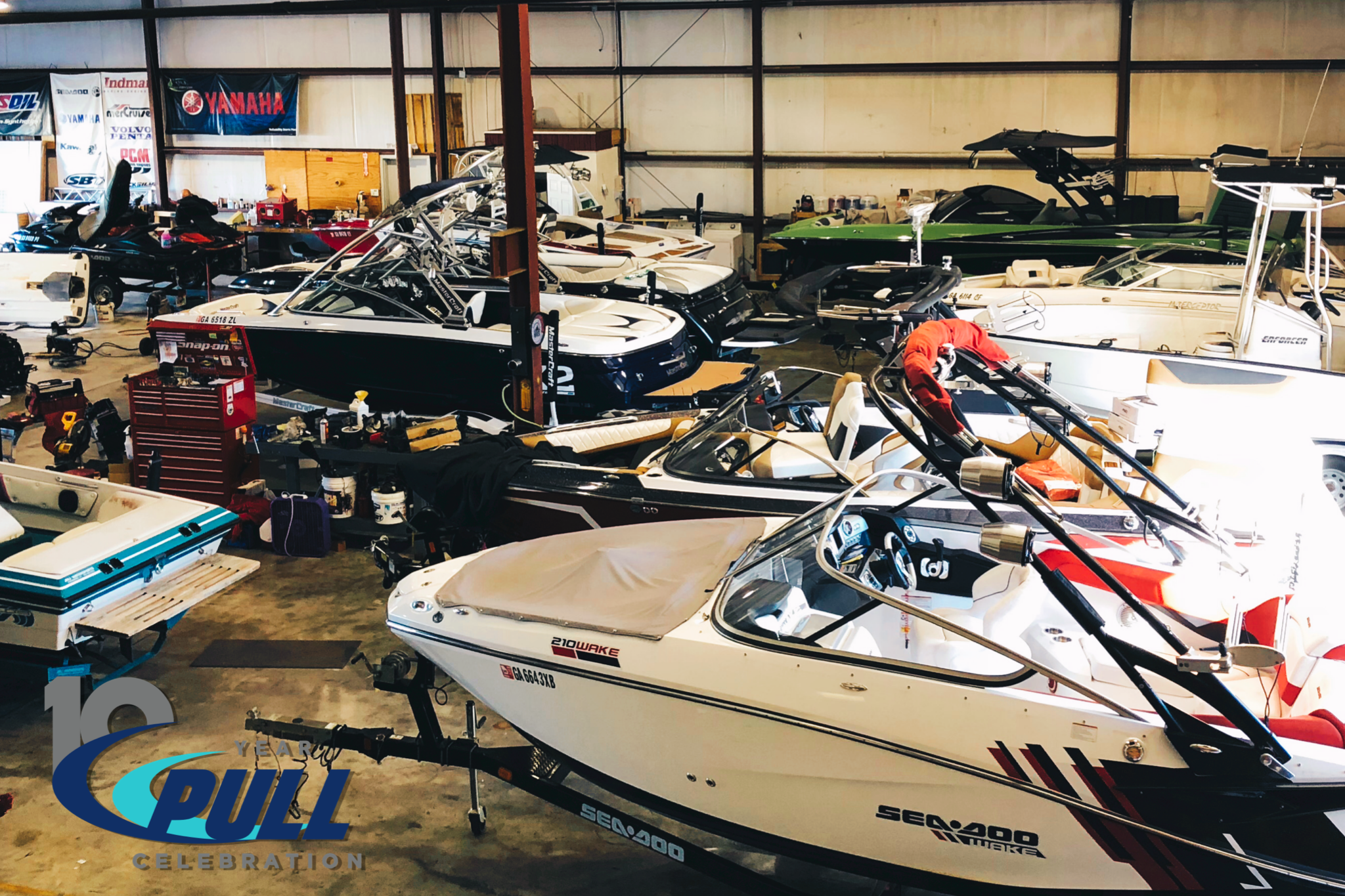 Service in action at PULL Watersports