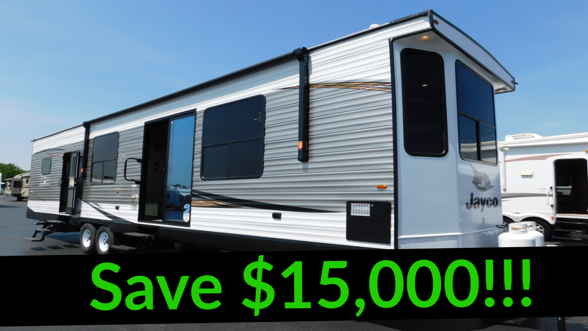 NEW 2019 Jayco JAY FLIGHT BUNGALOW 40BHTS - Rick's RV Center