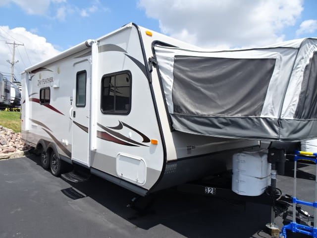 USED 2014 Jayco Jay Feather Ultra Lite X23B - Rick's RV Center