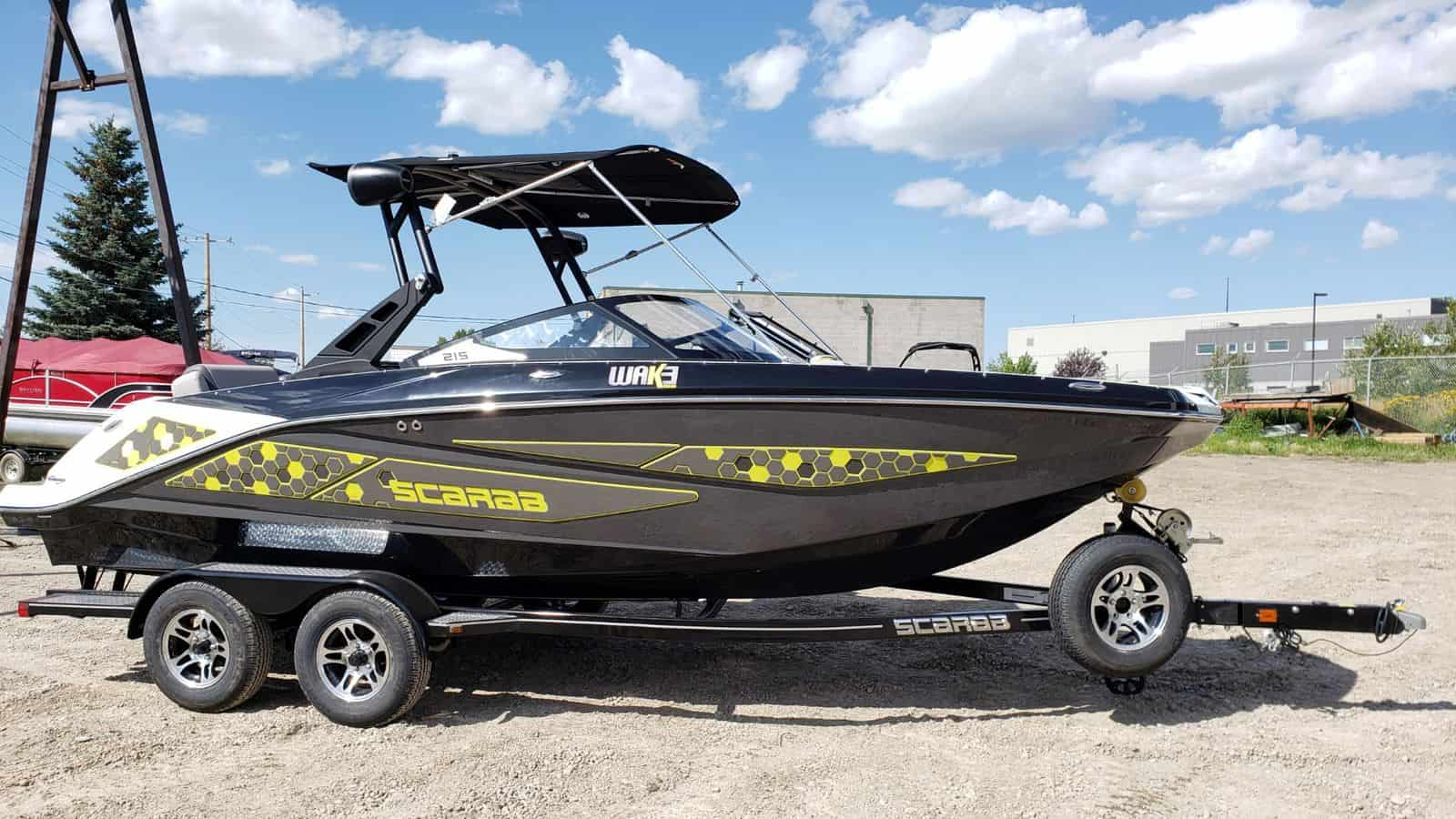 Scarab Boats | Edmonton Boat Sales | Shipwreck Marine