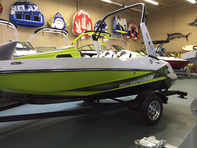 NEW 2017 Scarab 165 HO Impulse - Shipwreck Marine