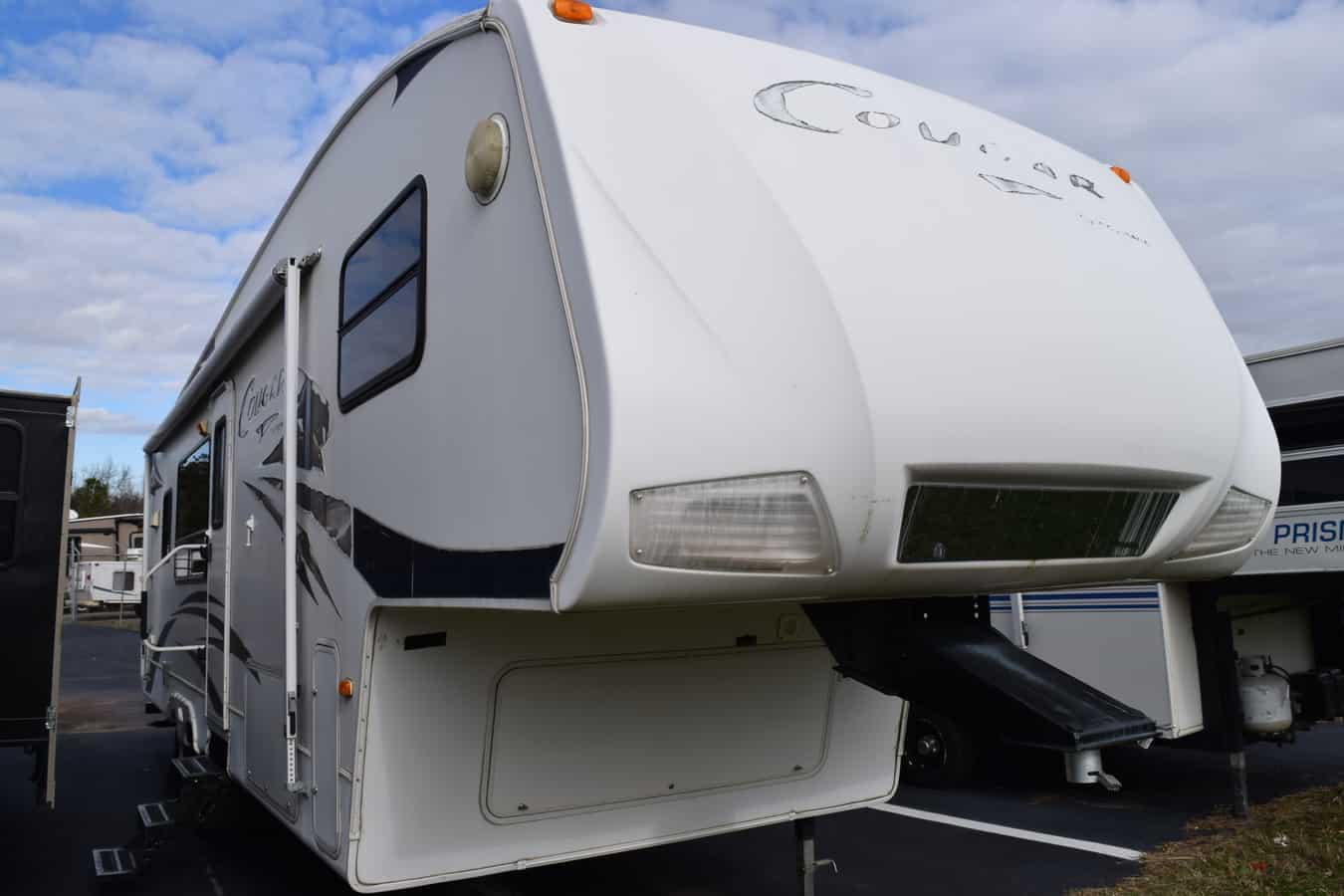 USED 2007 Cougar 290 RKS - Three Way Campers